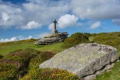 Jama Penney Przecinający Dartmoor. Zdjęcia Royalty Free