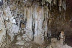 Jama stalagmity Zdjęcie Royalty Free