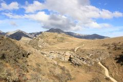 Jama strumienia Sceniczna rezerwa, Nowa Zelandia Obraz Stock