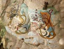 jama target4446_1_ s ścianę Obrazy Royalty Free