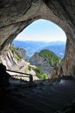 Jama w górach Zdjęcia Royalty Free