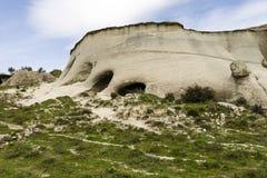 Jama zawala się w Calabria z krajobrazowy rupestrian Fotografia Stock