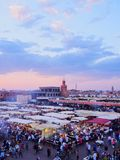 Jamaa el Fna, Marrakech Royalty Free Stock Photos