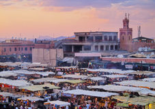 Jamaa el Fna, Marrakech Stock Images