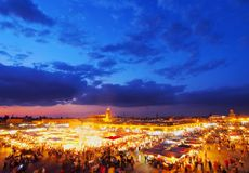 Jamaa el Fna, Marrakech Royalty Free Stock Image