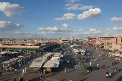 Jamaa EL Fna in Marrakesch Lizenzfreie Stockbilder