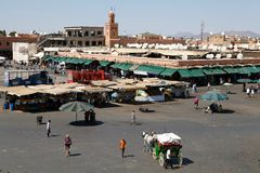 Jamaa el Fna Marrakesh Stock Photo