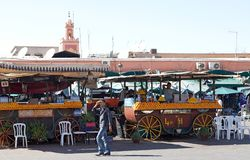 Jamaa el Fna Marrakesh Royalty Free Stock Images