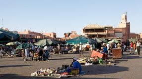 Jamaa el Fna Marrakesh Stock Photos