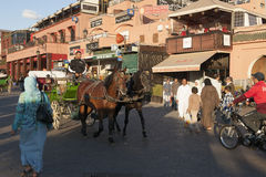 Djemaa el Fna, Marrakesh Royalty Free Stock Photography