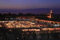 Jamaa el Fna Royalty Free Stock Photo