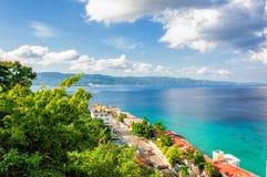 Jamaica ö, Montego Bay arkivfoto