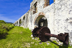 Jamaica. Historic building in Montego Bay, Jamaica stock photography