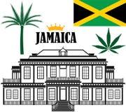 jamaica royaltyfri illustrationer