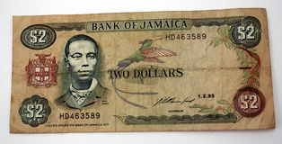 Jamaica Currency Royalty Free Stock Image