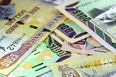 Jamaica currency - Banking and economic stability concept Royalty Free Stock Photo
