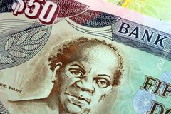 Jamaica currency - Banking and economic stability concept Stock Images