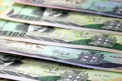 Jamaica currency - Banking and economic stability concept Stock Photography