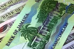 Jamaica currency - Banking and economic stability concept Royalty Free Stock Images