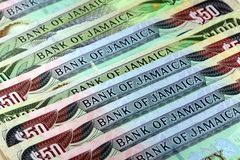 Jamaica currency - Banking and economic stability concept Stock Photo