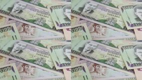 Jamaica currency - Banking and economic stability concept stock video footage