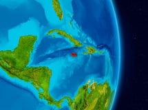 Jamaica do espaço Imagens de Stock Royalty Free