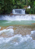 Jamaica. Dunn's River waterfalls Stock Photography