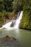 Jamaica. Dunn's River waterfalls Royalty Free Stock Photos