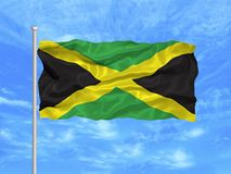 Jamaica Flag 1 Stock Image