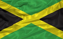 Jamaica Flag 3 Stock Photography