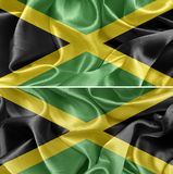 Jamaica flag royalty free stock photo