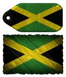 Jamaica flag stock illustration