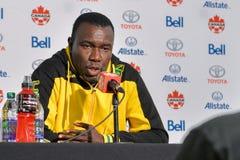 Jamaica fotbollMen's medborgare Team Head Coach Theodore Whitmor Royaltyfri Fotografi