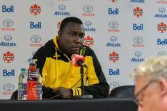 Jamaica fotbollMen's medborgare Team Head Coach Theodore Whitmor Royaltyfria Bilder