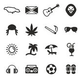 Jamaica Icons Stock Photography
