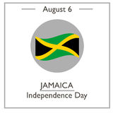 Jamaica Independence Day, August 6 Royalty Free Stock Images