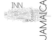 Jamaica Inn Word Cloud Concept. Jamaica Inn Text Background Word Cloud Concept Royalty Free Stock Images