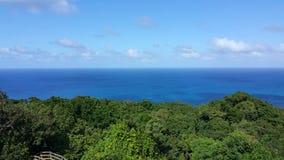 Jamaica mystic mountain. Ocean view of Jamaica mystic mountain Stock Image