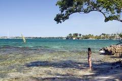 Jamaica na plaży Fotografia Stock