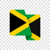 Jamaica - National Flag stock illustration
