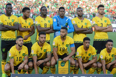 Jamaica national team players during Copa America Centenario Royalty Free Stock Photos