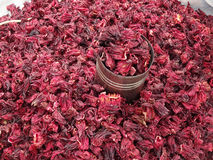 Jamaica para a venda em um mercado em Chilpancingo Fotos de Stock