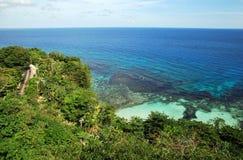 Jamaica S Coastline Royalty Free Stock Photo