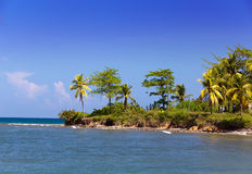 Jamaica. Sea tropical landscape Royalty Free Stock Photos