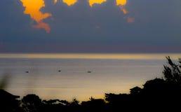Jamaica soluppgång arkivbilder