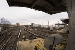 Jamaica station LIRR Arkivbild