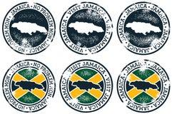 jamaica stempluje turystykę Obrazy Royalty Free