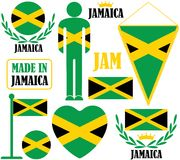 Jamaica. Vector illustration (EPS 10 Royalty Free Stock Image