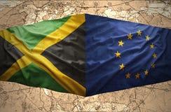 Jamaica y unión europea libre illustration