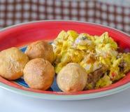 Jamaicaans ontbijt Stock Foto's